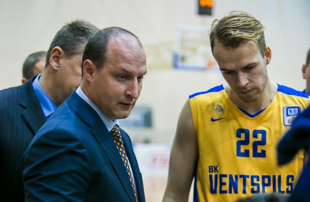 BK Ventspilsi peatreener Roberts Štelmahers