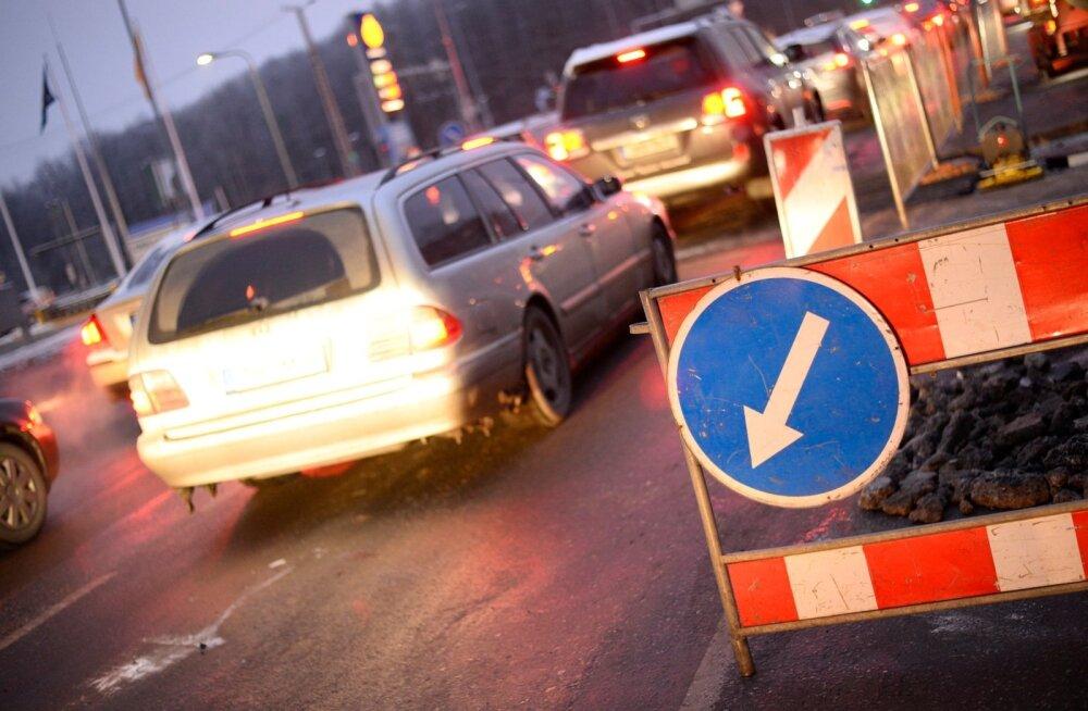 Новая пешеходно-велосипедная дорожка на улице Таммсааре сделает движение безопаснее
