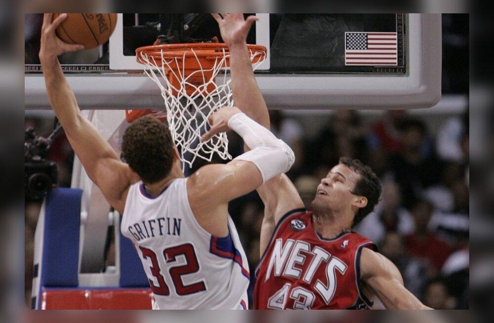 Blake Griffin lööb kaane pealt minema, korvpall