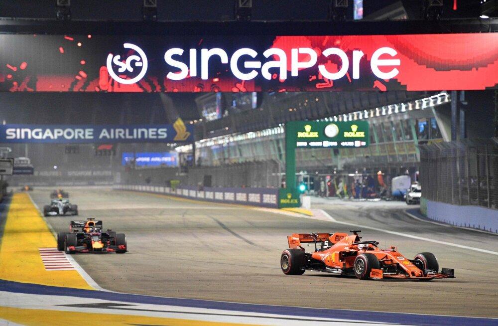 Vormel 1 tühistas Jaapani, Singapuri ja Aserbaidžaani etapid