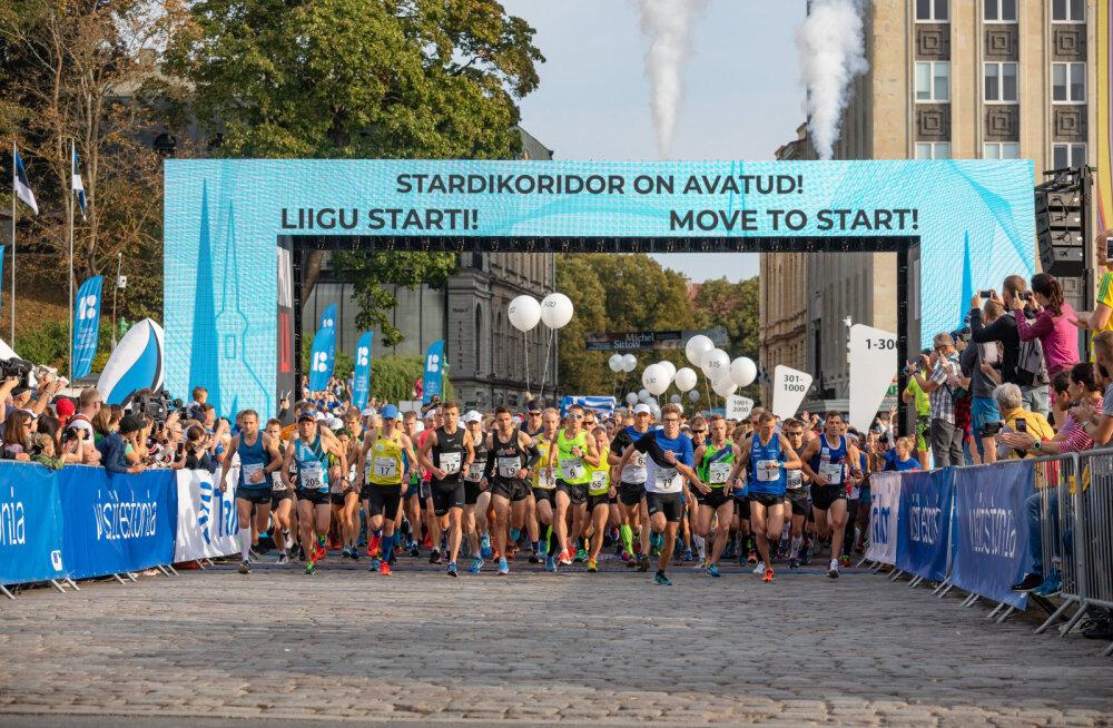 Täna algas registreerimine 6.-8. septembril 2019 toimuvale Tallinna Maratonile ja Sügisjooksule.