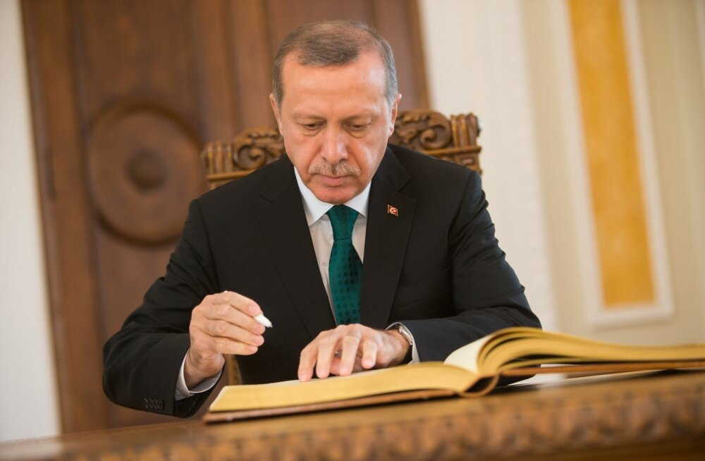 Türgi presidendi kohtumine Eiki Nestoriga