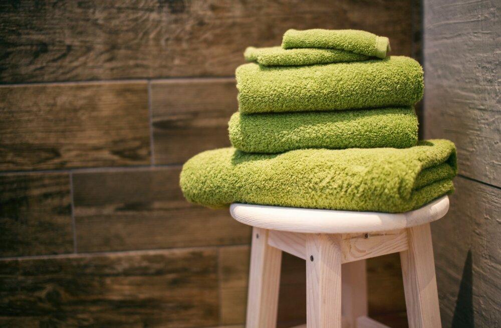 Kui tihti sina oma käterätikuid pesed? Tõenäoliselt üldse mitte nii tihti, nagu peaks
