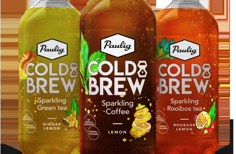 Kohvitootja Paulig siseneb karastusjoogiärisse ning toob turule gaseeritud kohvi- ja teejoogid
