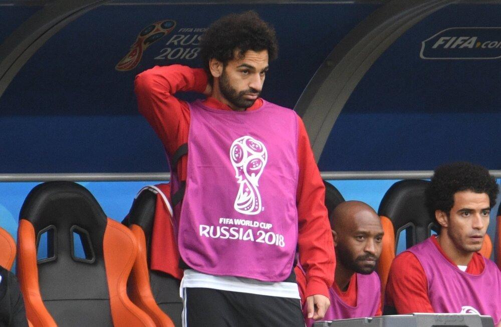 Pettunud Mohamed Salah.