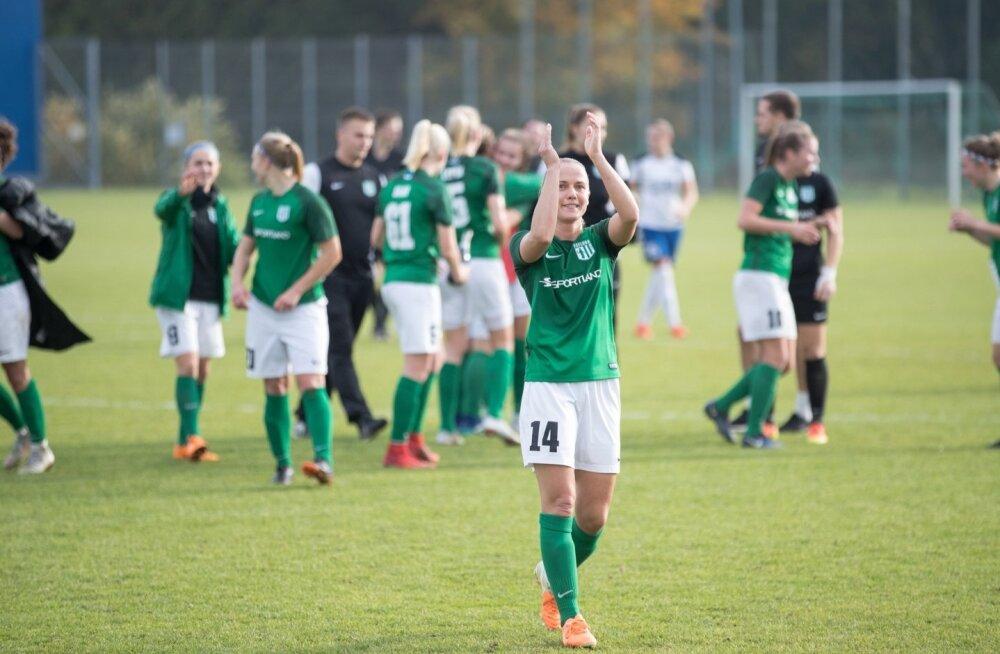b514e8182db Naiste jalgpalli meistriliigas on kaks uustulnukat - Sport