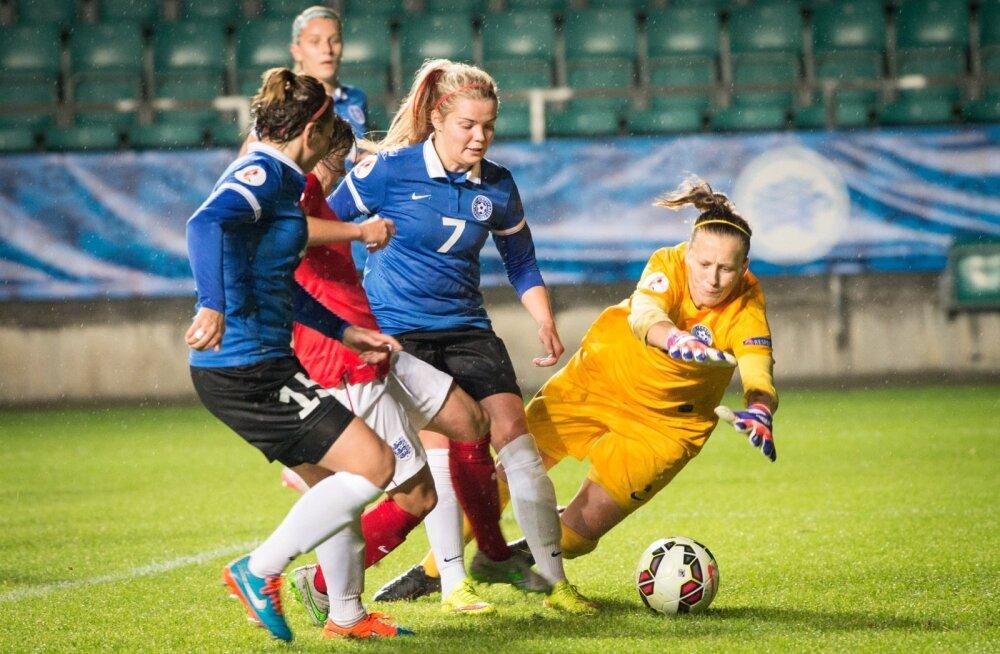 Eesti Inglismaa naiste jalgpall
