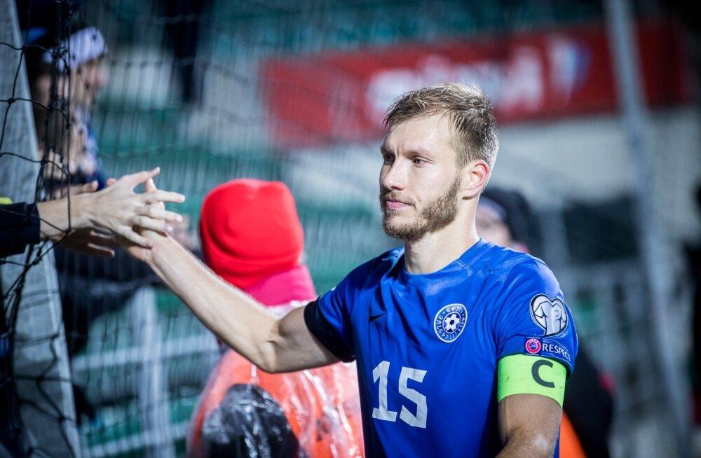 Eesti jalgpallikoondise kapten Ragnar Klavan.
