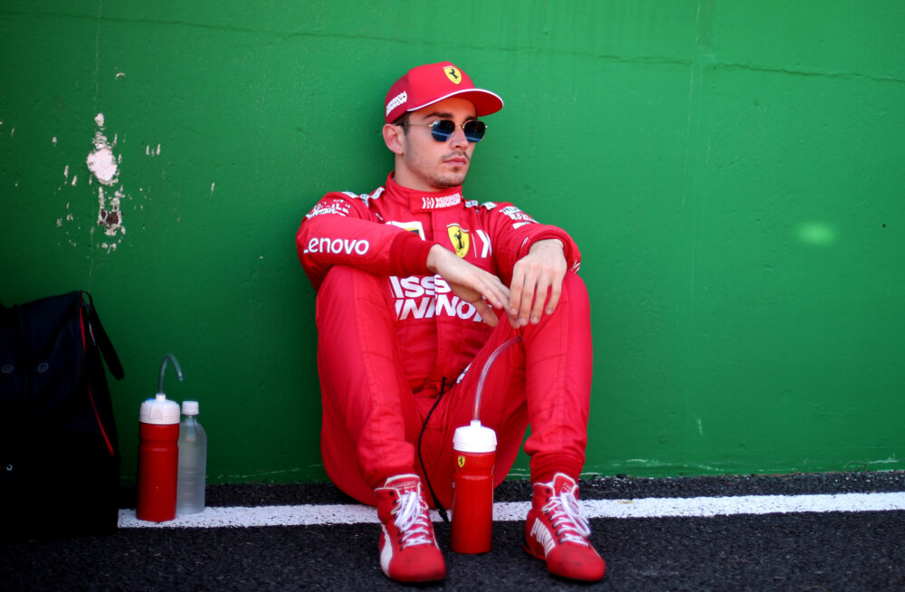 FIA karistas Leclerci ja Ferrarit kahe eksimuse eest
