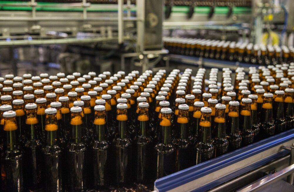 A. Le Coqi alkoholivaba õlle tootmine kasvab.