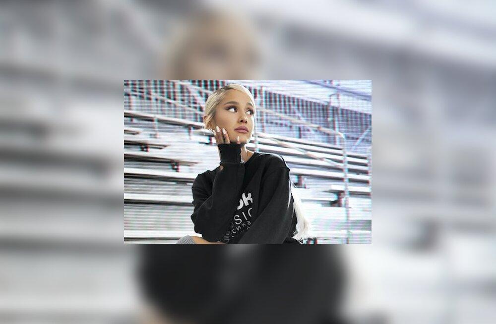 Fotod: lauljatar Ariana Grande promob uues kampaanias 90-ndaid