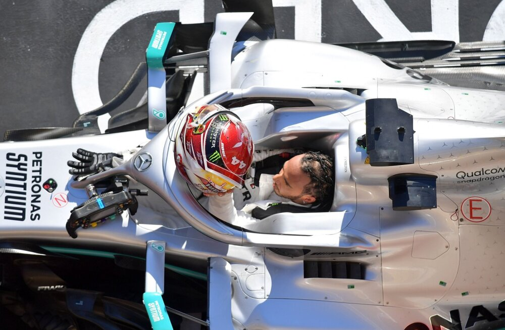 Kuuekordne maailmameister Hamilton: meil on veel tiitleid vaja võita