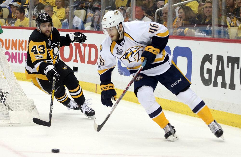 Pittsburgh Penguinsi lahutab NHLi tiitlist ainult üks võit
