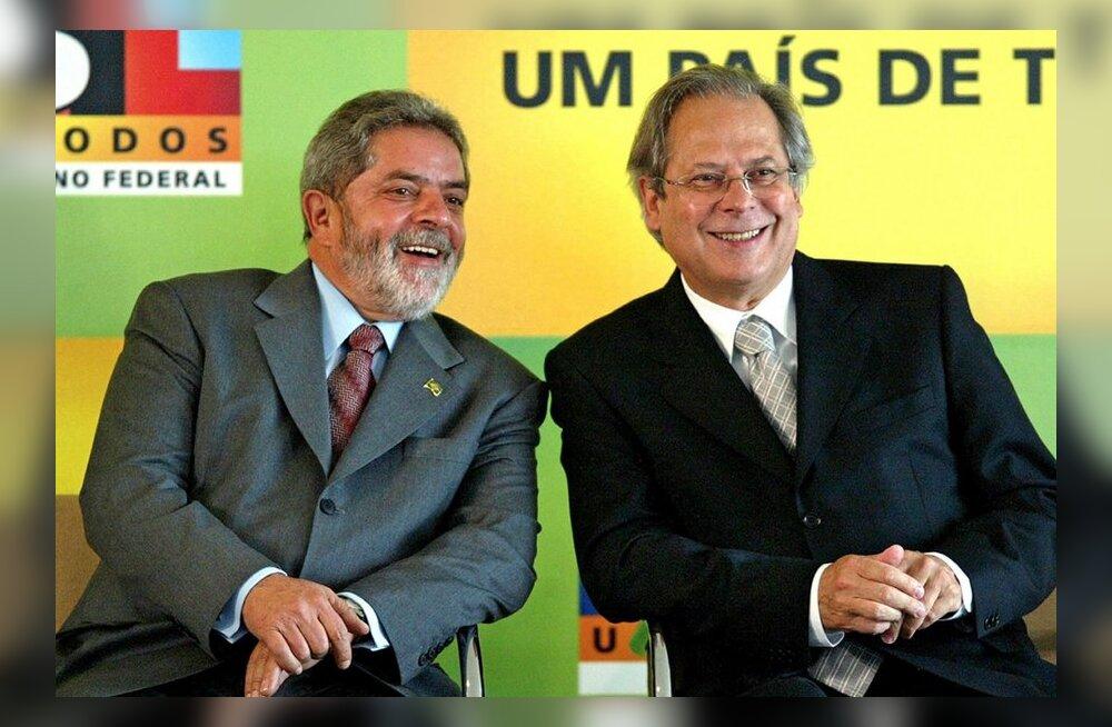 Brasiilia presidendi endine personaliülem mõisteti süüdi riigi raha eest häälte ostmises parlamendis