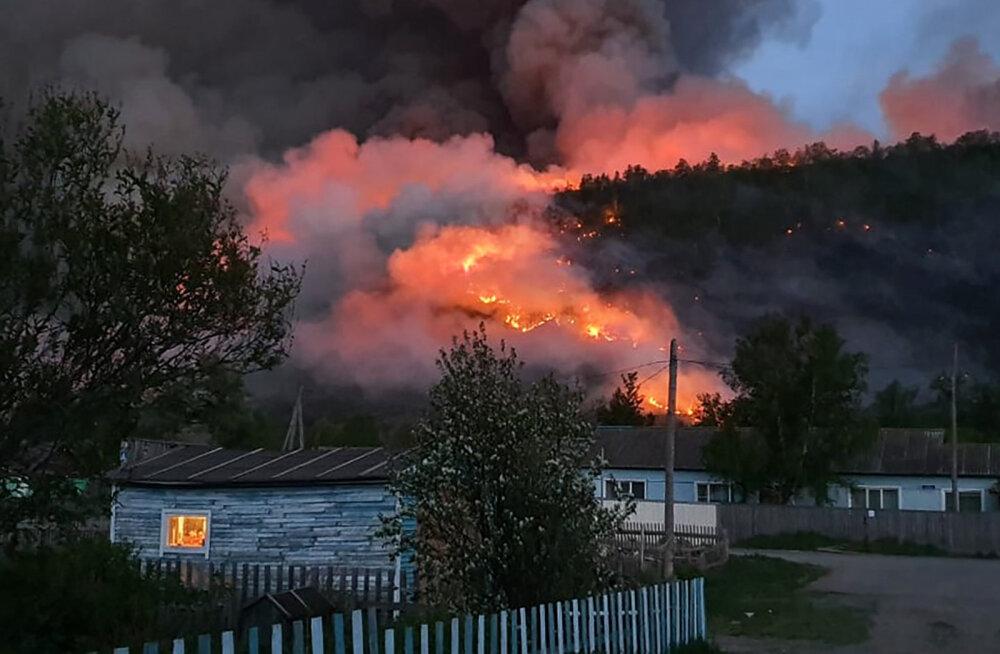 Venemaal Siberis põleb üle miljoni hektari metsa