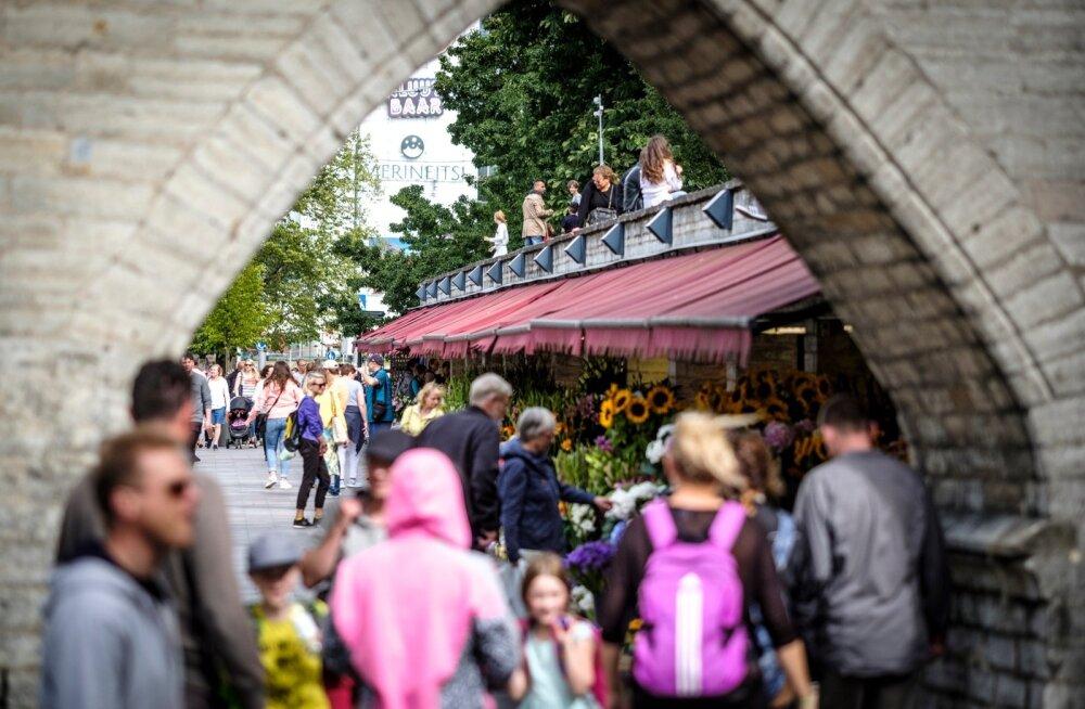 Eestit külastavate Aasia turistide arv on jätkuvalt kasvuteel