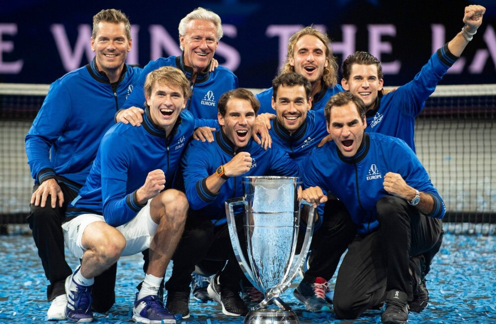 2019. aastal Laver Cupi võitnud Euroopa meeskond