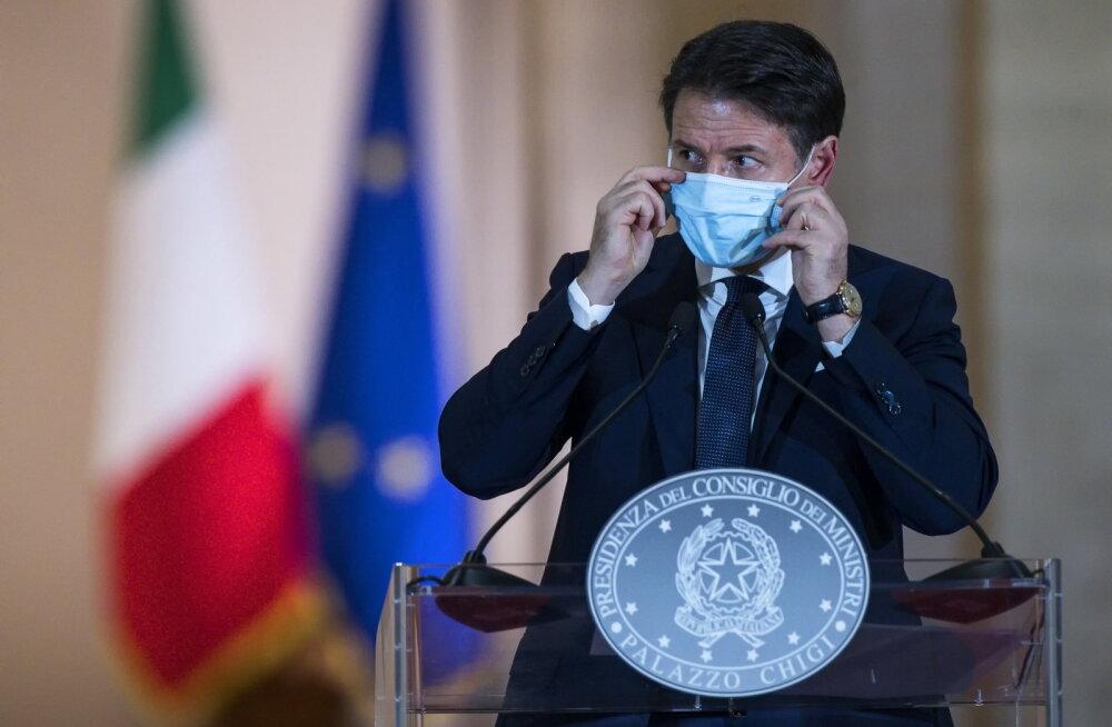 Itaalia kehtestas karmimad koroonameetmed uue täieliku lukustamise vältimiseks