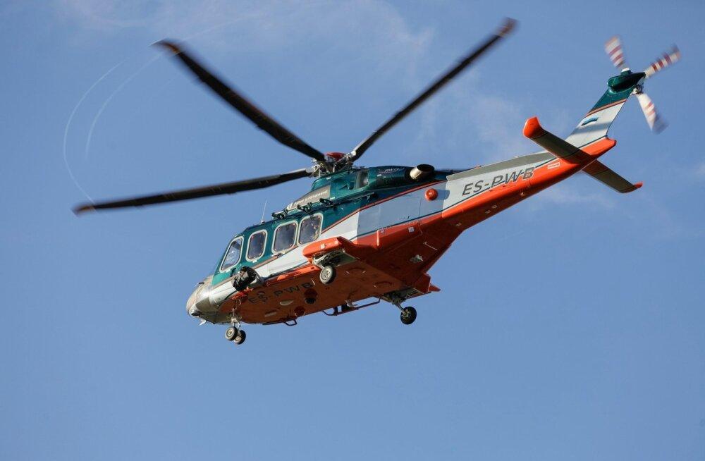 VIDEO   Sohu eksinud seenelised päästeti helikopteriga