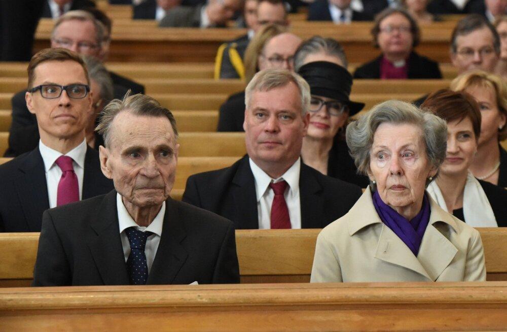 Soome endise presidendi Mauno Koivisto naine rääkis mehe Alzheimeri tõvest