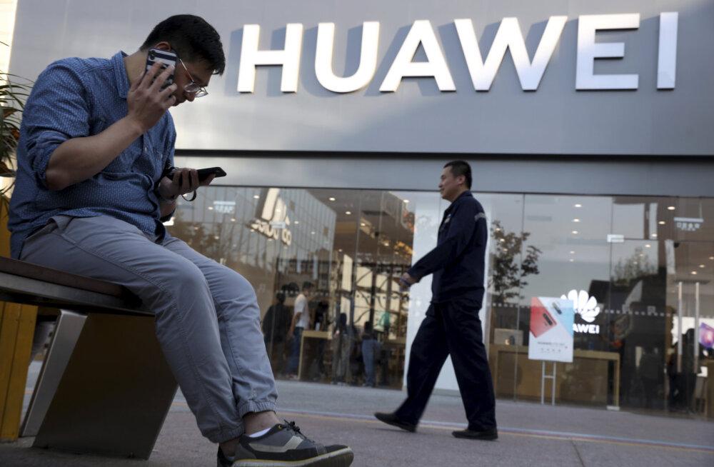Eesti telekomid Huawei seadmeid veel poelettidelt ei korista