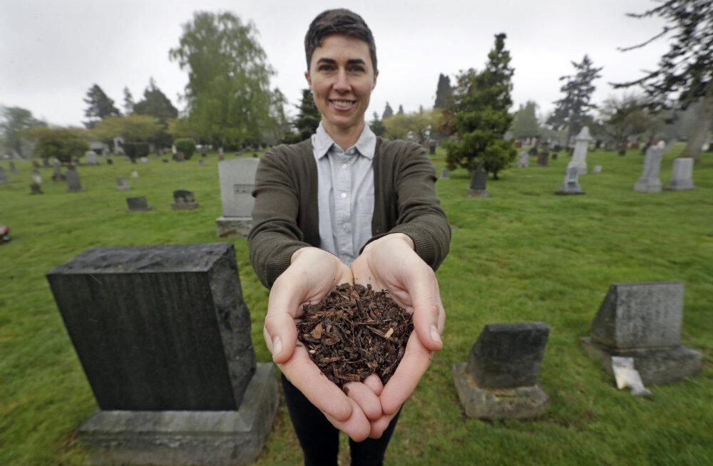 USA osariik on seadustamas inimestest komposti tegemist