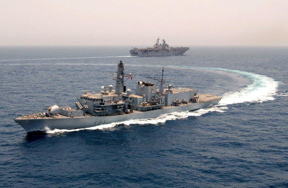 Sõjaline võimekus merel - koht, kus Euroopa järjest enam hätta jääb