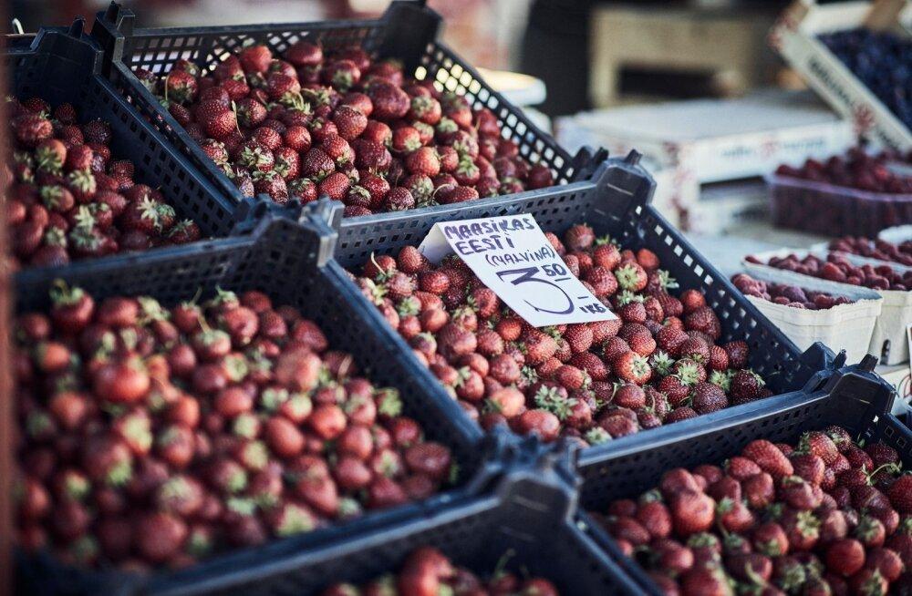 Turu maasikakarp: peal ilusad, all nigelad marjad