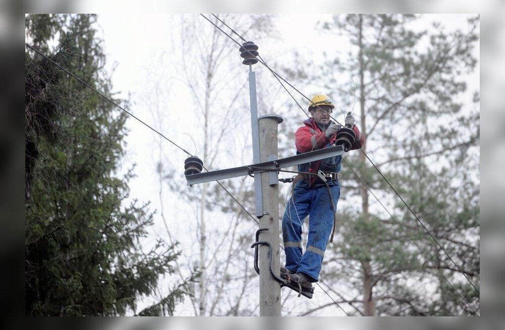 Elektrilevi rikkemeeskonnad on kõrgendatud valmisolekus