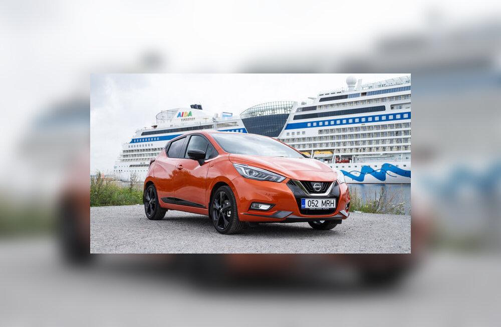 Motors24 proovisõit: Nissan Micra asendab ka suuremat Note'i