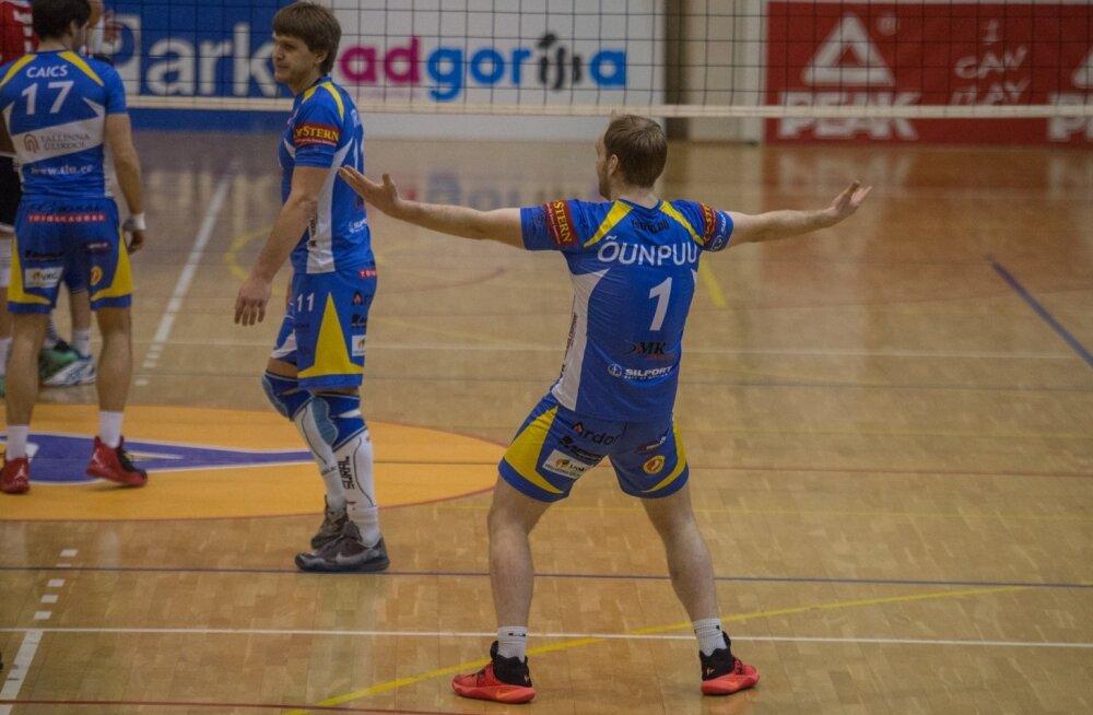 Tallinna Selver vs Rakvere Võrkpalliklubi