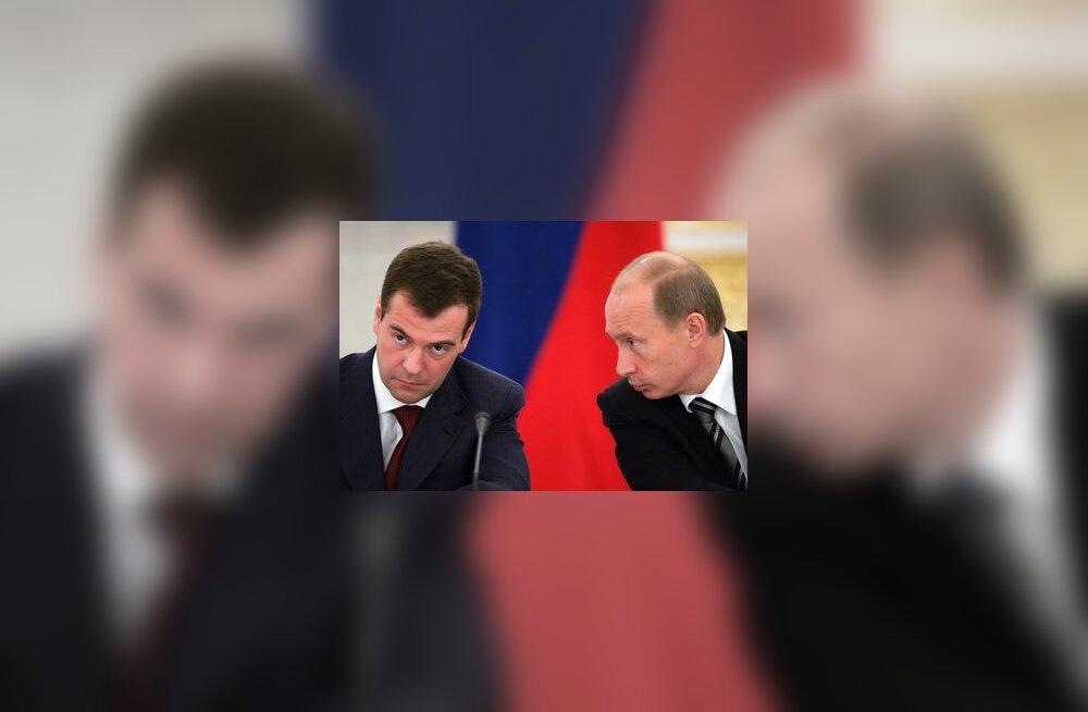 Medvedjev, Putin, Vene, president, valimised