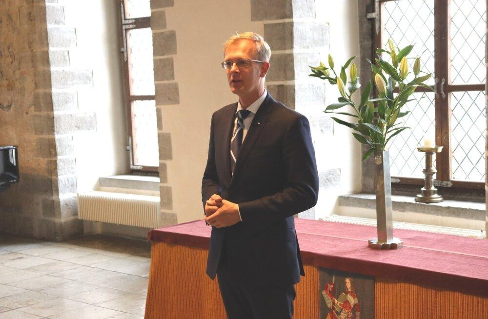 Tallinna raekojas toimus vastuvõtt ESTO 2019 korraldajatele