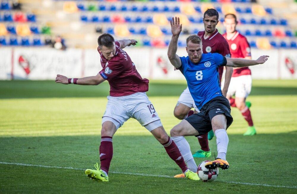 Eesti vs Läti sõpruskohtumine Riias