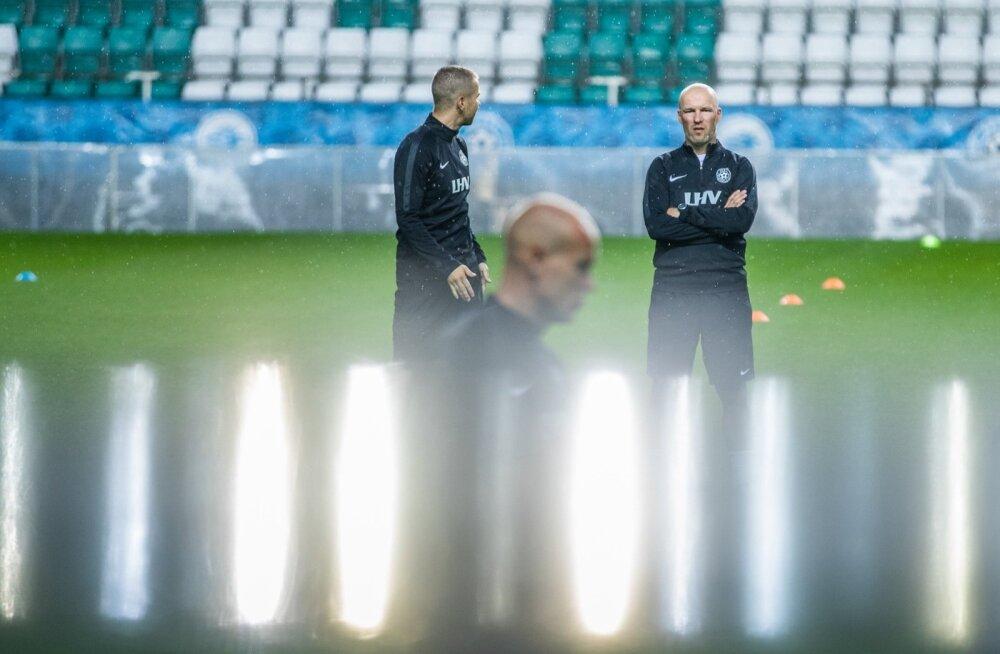 Uuelt peatreenerilt Karel Voolaidilt oodatakse eelseisvatel mängudel väga palju.
