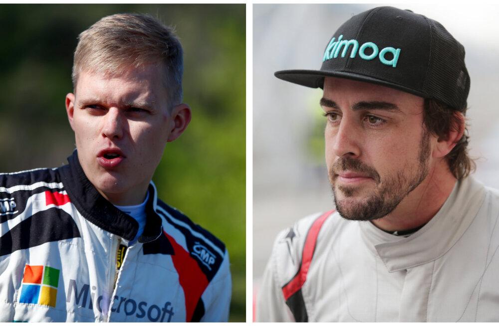 Fernando Alonso soovib Tänaku masina rooli istuda, Mäkinen andis rohelise tule