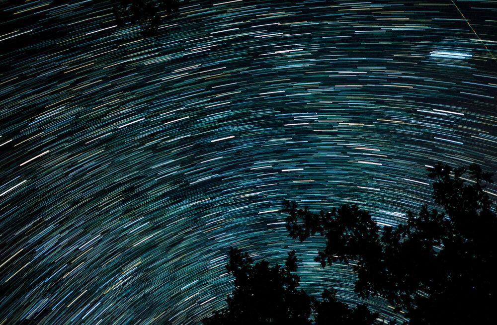 В ночь на вторник при ясном небе в Эстонии можно будет наблюдать пик звездопада Персеиды