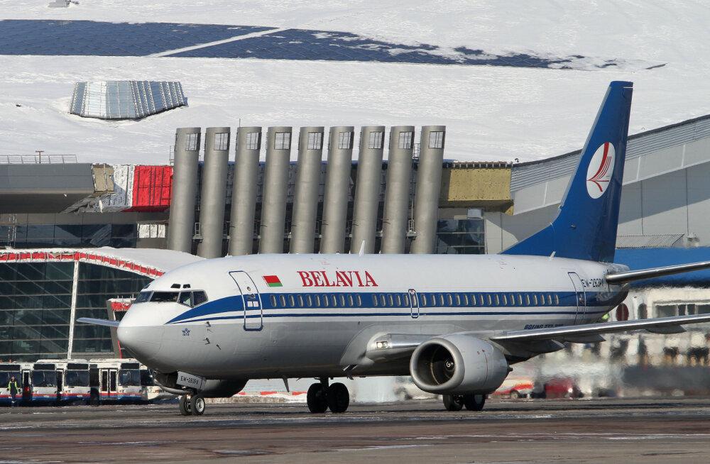 Самолет Belavia аварийно приземлился в Киеве со сломанным шасси. Авиакомпания недавно открыла прямую линию из Таллинна