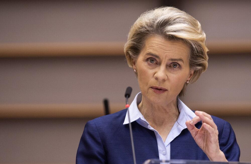Von der Leyen: EL-i liikmesriigid alustavad vaktsineerimist samal päeval