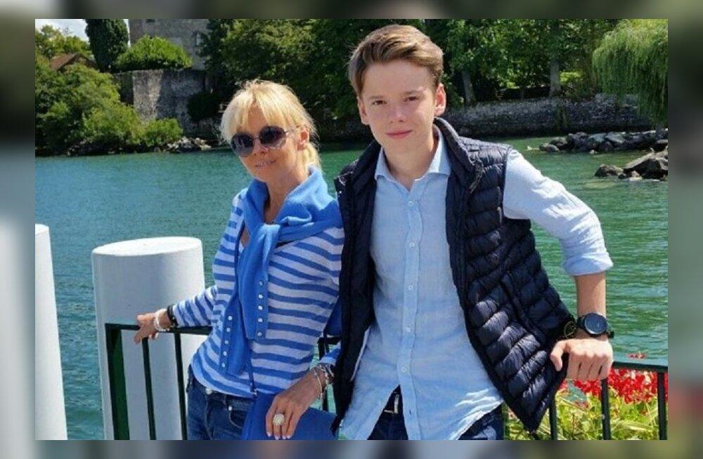 У 15-летнего сына Валерии роман с девушкой из богатой семьи
