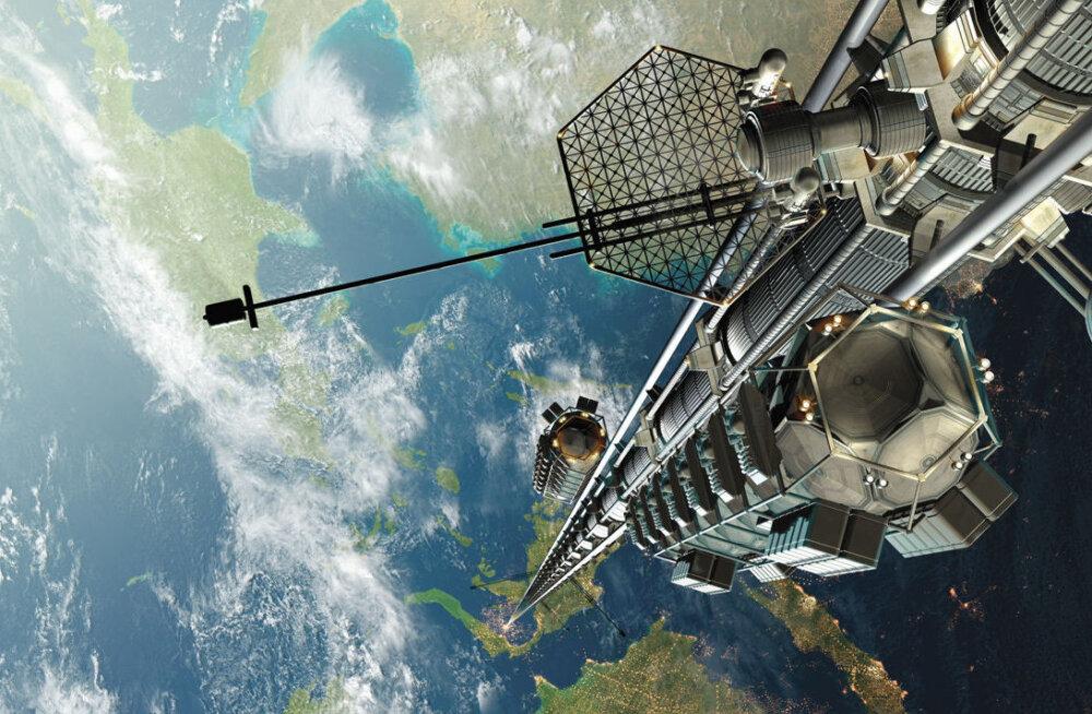 Kurb, aga tõsi: süsiniknanotorud on kosmoselifti ehitamiseks liiga nõrk materjal