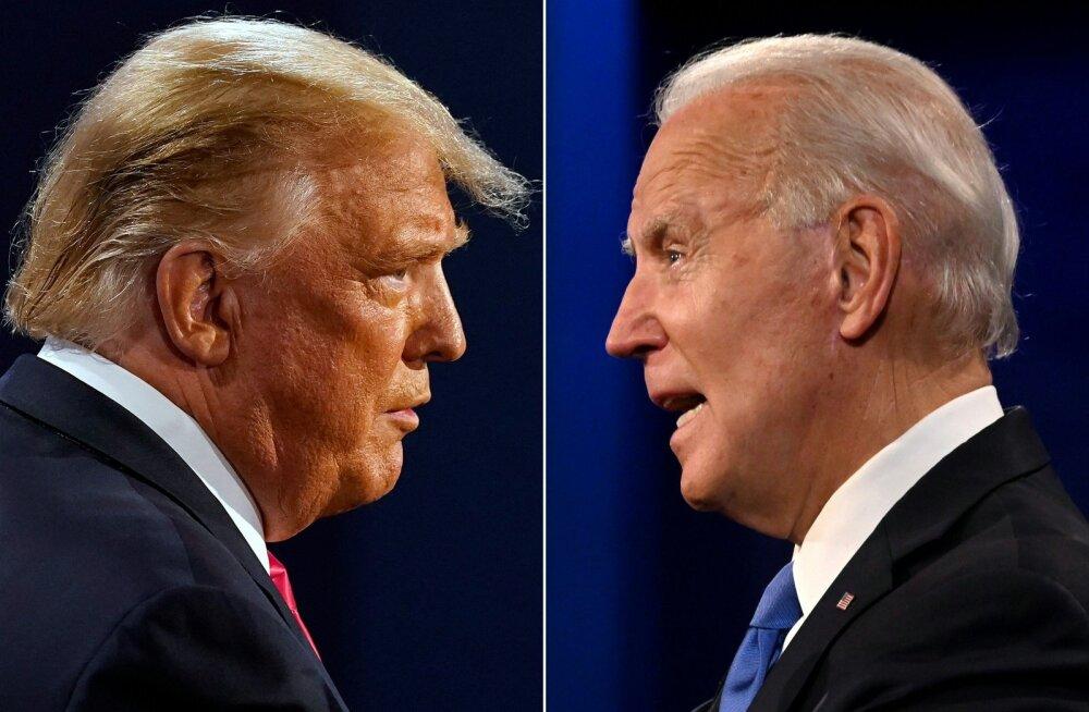 Biden nimetas Trumpi šarlataniks, Trump lubas eeslinnade naiste mehed tööle aidata