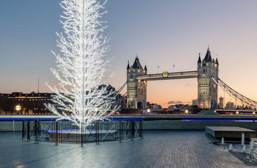 Eesti 100 disainerid ehivad jõulude ajal Londoni kesklinna väljakut