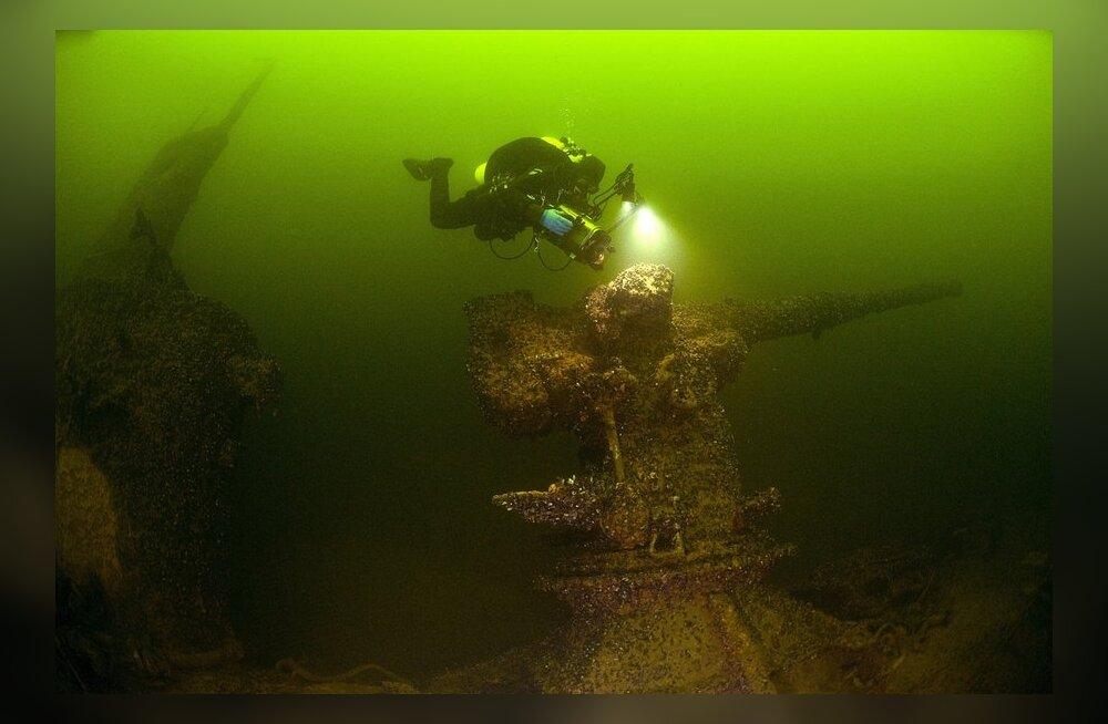 Soome vetest leitud sõjalaev Pallada viis Neptuni riiki vähemalt kuus eestlast