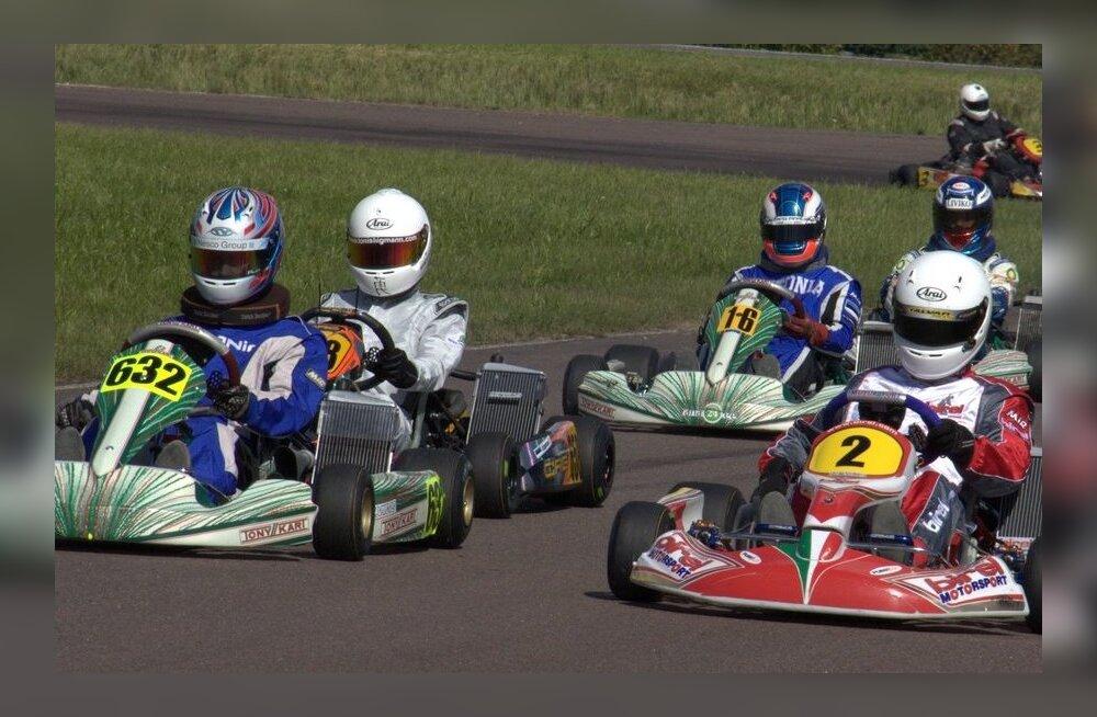 Kardisõidu Eesti meistrivõistluste viimase etapi võitis Mario Vendla