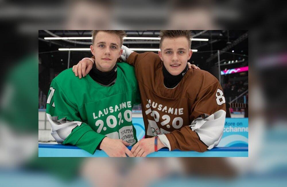 Эстонские близнецы вошли в историю олимпийского хоккея!