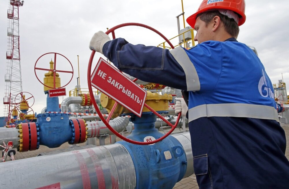 New gas storage in Kaliningrad Region