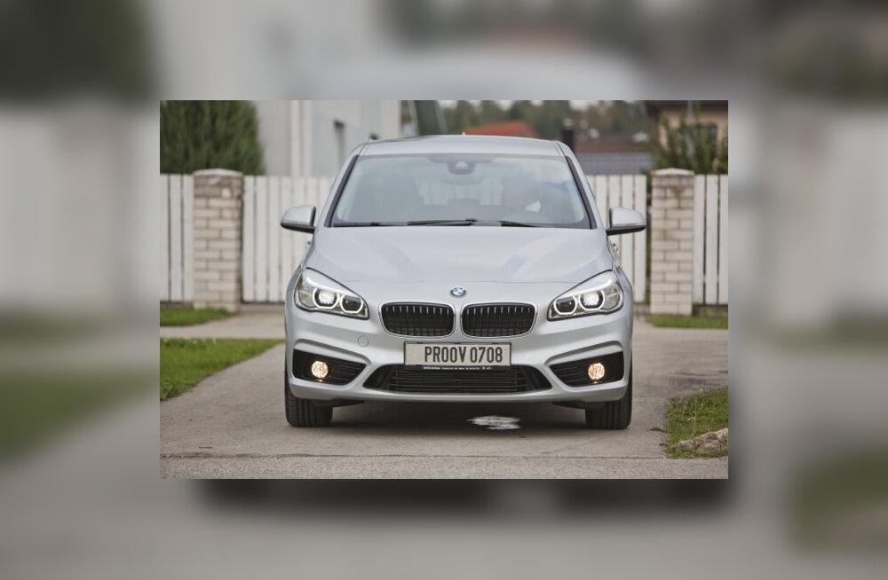 Proovisõit: 2. seeria Active Tourer – BMW üllatas esiveolise pereautoga