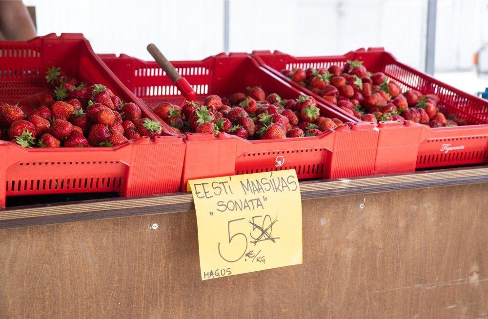 Need maasikad on Eestis kasvatatud