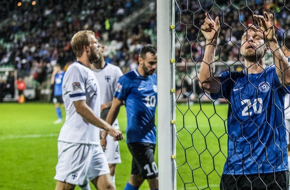Soome vs Eesti jalgpall